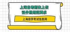 上海自考新生上传证件照规范要求